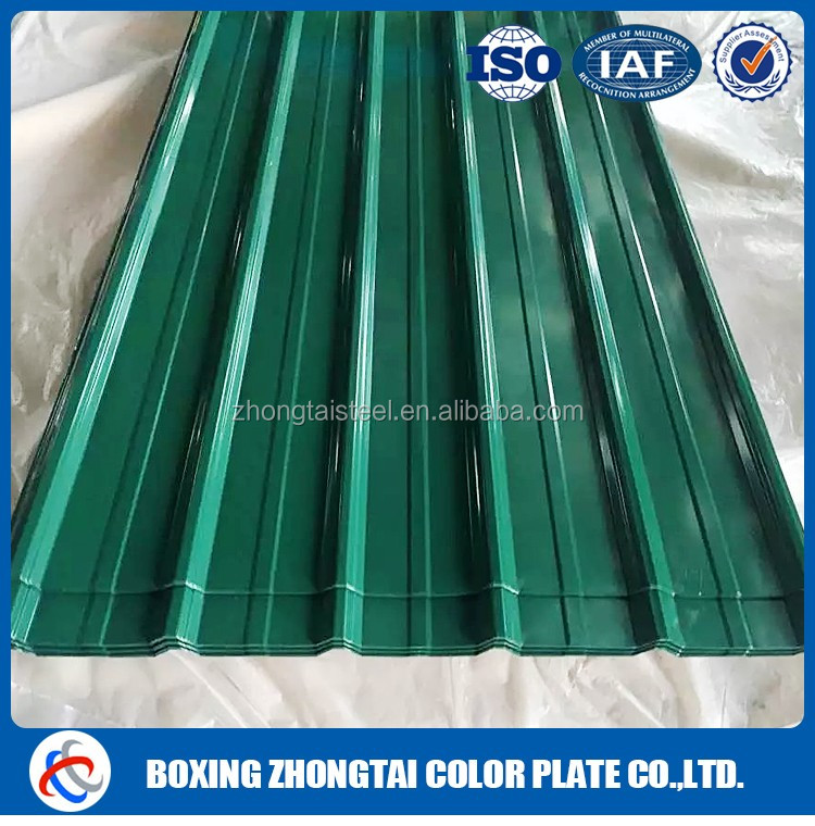 Steel metal roofing tile sheet