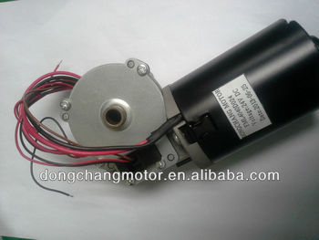electric motor with reduction gear for wheelchair motor / 80 w to 600 w motor for golf cart, balance car