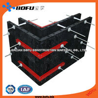 Chinese plastic tunnel modular formwork for construction and building