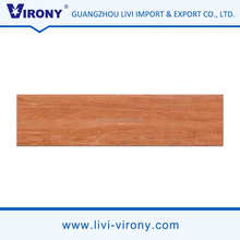 China branded virony wood grain square high gloss tiles floor