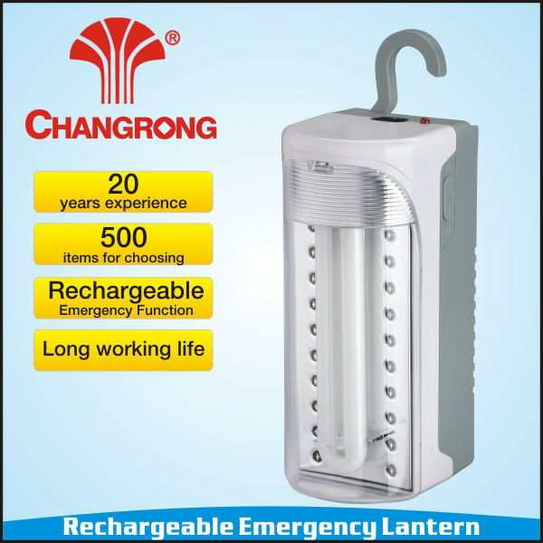 Rechargeable wall lantern 20pcs led +9W led tube
