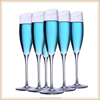 Wholesale elegance lead-free champagne glasses
