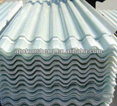In fibra di vetro foglio ondulato pannelli in fibra di for Vetroresina ondulata prezzo