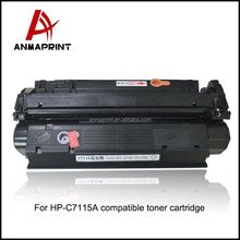 China printer consumable C7115A laser toner cartridge Good price compatible for printers