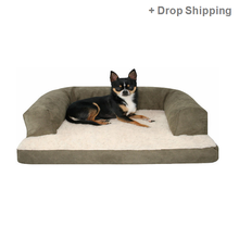 Plush Ped Bed Dog Shaped Bed -Skype: colsales12