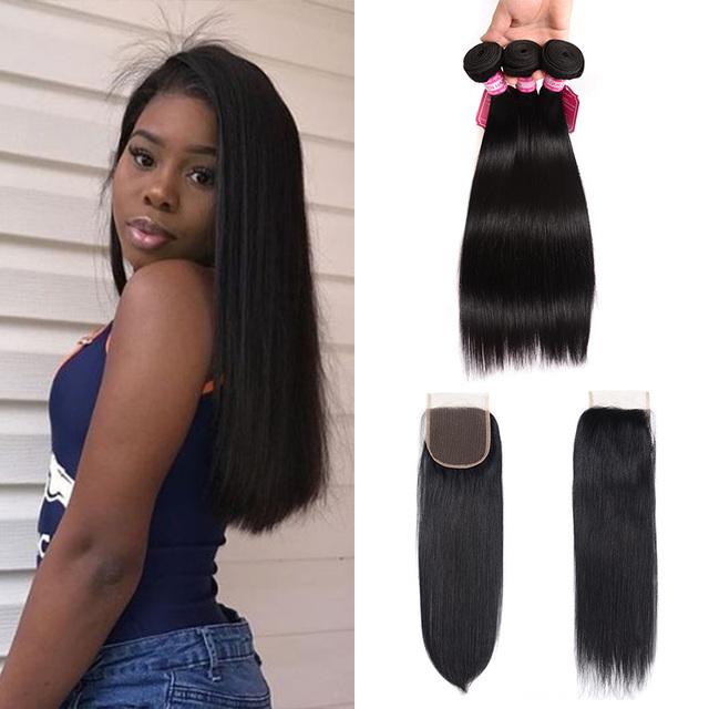 wholesale brazilian hair lace closure, 7A grade mink brazilian straight hair piece toupee human hair