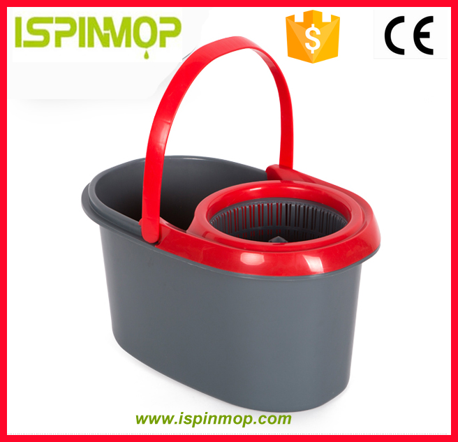 ISPINMOP Multi-function Household Good Helper cleaning Plastic bucket clever mop as seen on tv