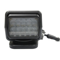 High quality Black White 50W led driving worklight,Stainless steel with waterproof for truck tractor