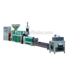 Pe Pp Film Two Extruder Granulation Line China Plastic Granulating Machine/plastic Recycling Granulator