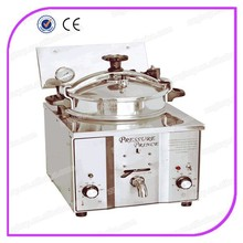 small size light wight deep electric pressure chicken fryer machine