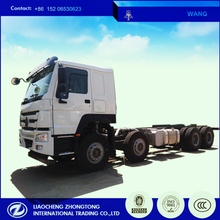 8*4 concrete mixer and cement bulker truck chassis