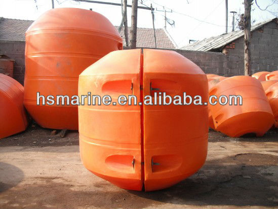 Dredge pipe floater