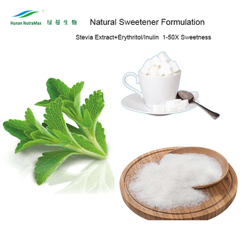 Natural Blend Sweetener Stevia Extract and Erythritol Sweetener Low Calorie