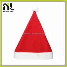 100% Polyester Felt Hot selling decoration Santa Caps dancing christmas hats