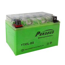 motorcycle battery box YTX5L-BS GEL battery