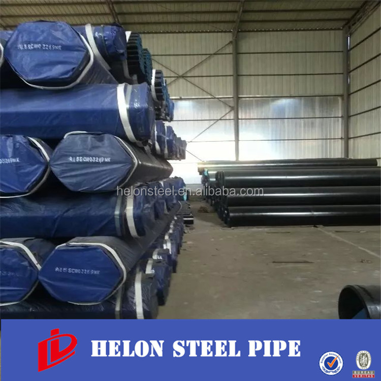 Black Api 5l X52 16 Inch Carbon Seamless Steel Line Pipe Price China steel pipe