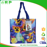 Small high quality custom OEM non woven textile shopping bag