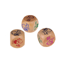 wooden polyhedral bulk dice wholesale,Hot Sale Dice Game,High Quality playing dice