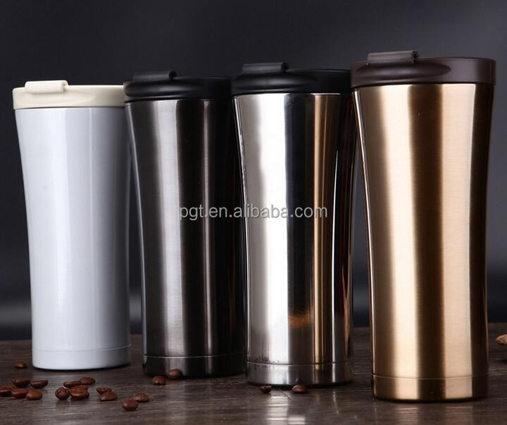 New promotion manufacturer double wall stainless steel starbucks termos custom travel mug thermo starbucks coffee cups car mug