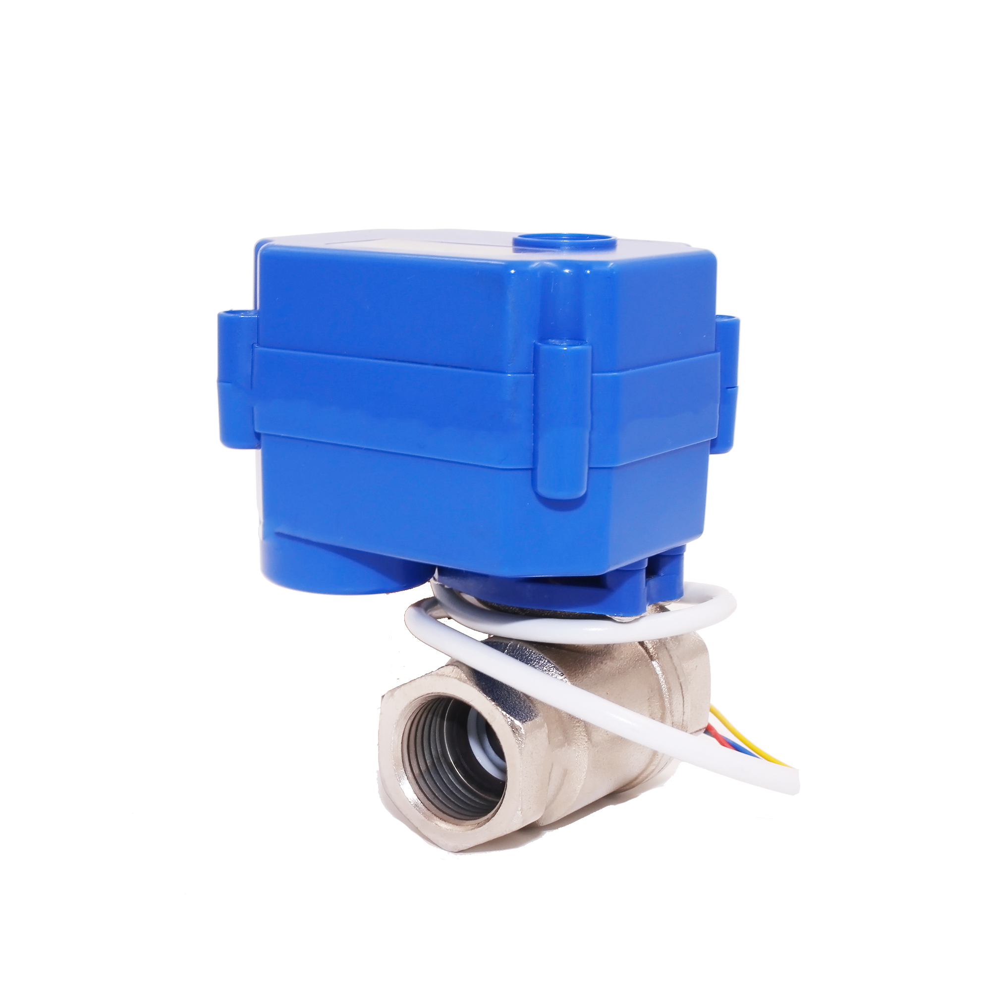 motorized ball valve DN25, 2 way, 12V electrical valve for Air-warm valve.HVAC and fire works