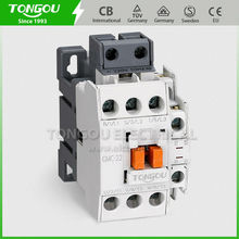 TONGOU factory was established for 21 years already TOC5 LG GMC-22 Contactor AC 22A with quality warranty