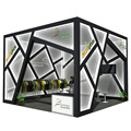 Detian Offer Newest 6x6 Portable Exhibition Booth Design Solutions
