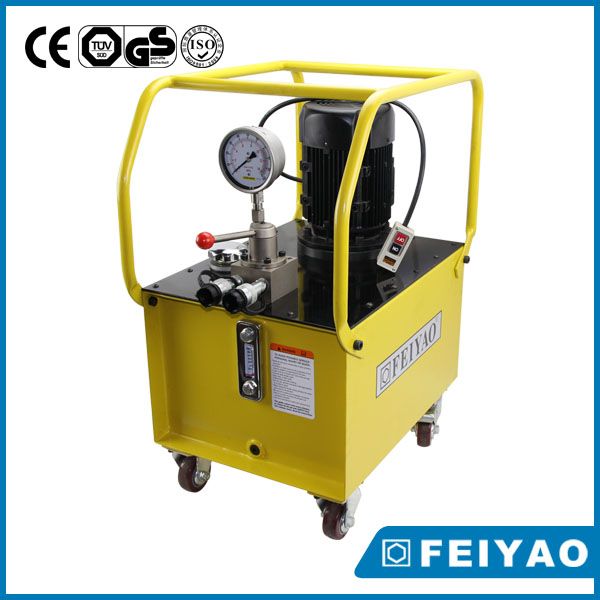 Electric operated hydraulic pump type hydraulic ram pumps