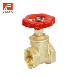 New designed OEM service plate hydraulic flow control brass check gate valve