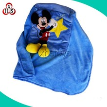 New Hot Sell 2 In 1 Pillow Blanket For Promotional