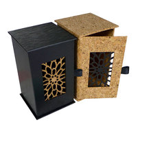 laser cutting luxury square perfume packaging box for perfume bottle