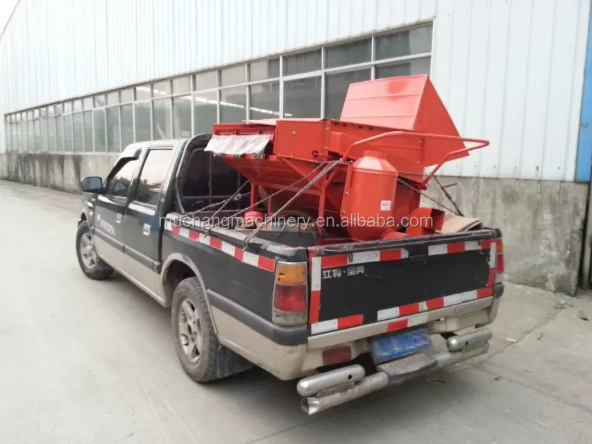 2015 most popular multifunction gasoline rice thresher