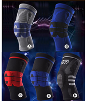 Silicone KneePads Sports Safety Football Basketball Tape Snowboard Tactical Knee Support/Pads Calf Knee Protection