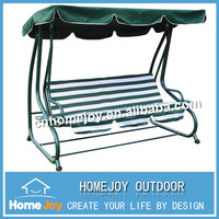 Durable garden cast iron swing, outdoor iron swing, unique garden swings with canopy