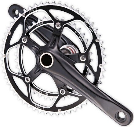Aluminum Road Bicycle CNC Chainring Crank Bicycle Crank