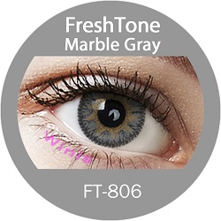 FT-806 Marble grey best selling korean cosmetic cheap color contact lens