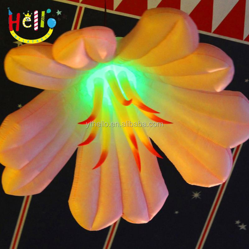 Customized club, event decoration inflatable flower No. <strong>a001</strong> with led light for sale