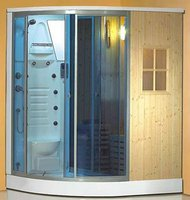 Steam Shower Rooms And Rock Sauna Combo
