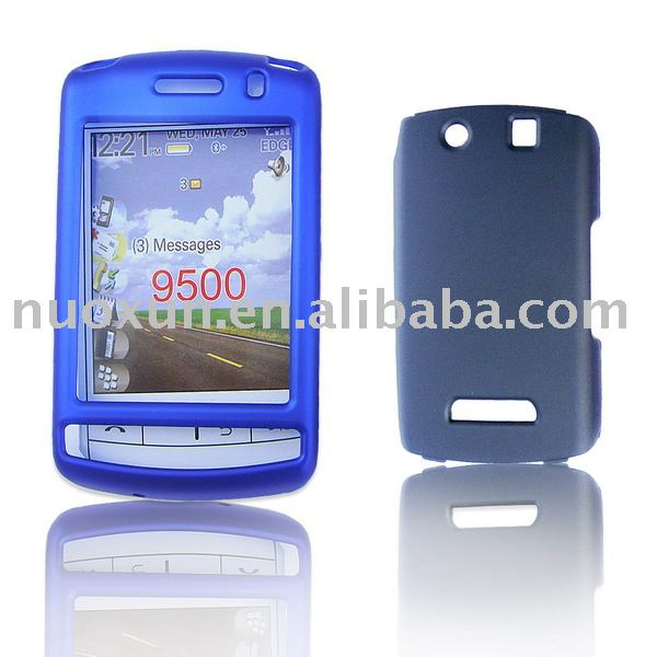 Rubberized crystal case for Blackberry Storm 9500