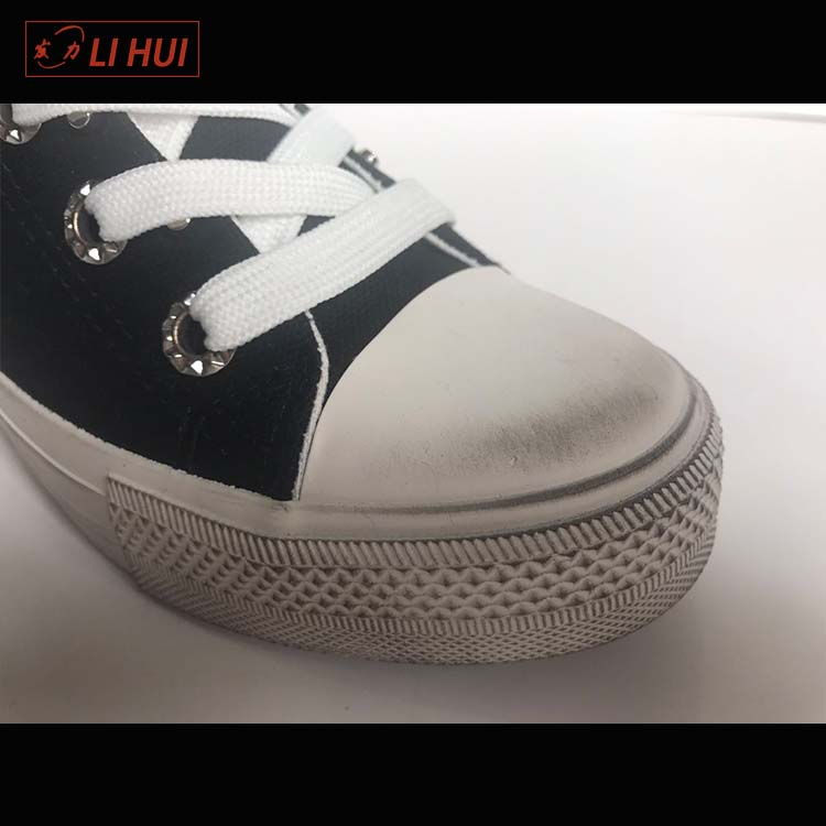 Wholesale casual dirty canvas fashion custom woman shoes