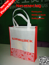 2014 china fabricage kerst korting prijs marketing reclame bag/non-woven eco Hangbag/made in china wholesale