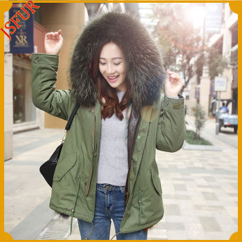 2016 Newest Adult Coat For Woman Fox Fur Winter Parka