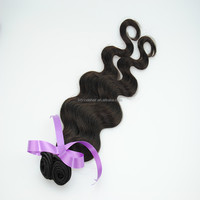 brazilian human hair weft with cuticles intact