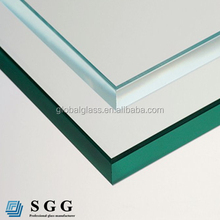 CE certified cut to size transparency safety tempered glass 10mm 12mm price