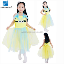 beautful child minion costume for canival party