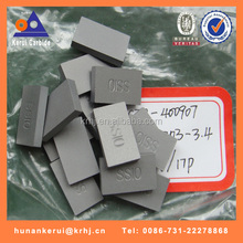 tungsten carbide tool parts rectangle cutting inserts for all kinds of stones