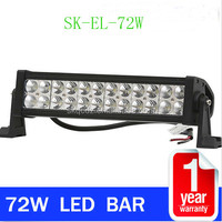 Offroad 13.5Inch 72W High Intensity Led Flood/Spot/Combo Beam Led Work Driving 4X4 Light Bar SK-EL-72W