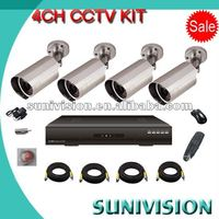 4CH factory for cctv camera wired wireless convert