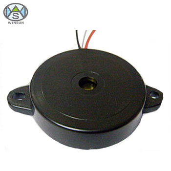 High Cost Performance 12V Piezo Buzzer With D24xH4.5mm Self Drive