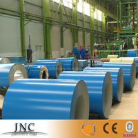 PREPAINTED 55%AL-ZN COATED STEEL IN COILS(PPGL)