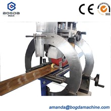 Embossing Machine for ps photo frame and decoration profile